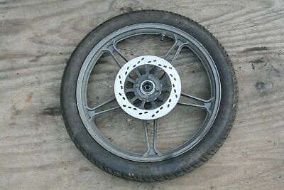 "KEEWAY GR125 PARTS  FRONT WHEEL  18"" cg125 copy"