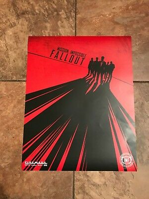 Mission: Impossible Fallout Cinemark Movie Poster Limited
