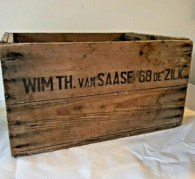 Vintage Wooden Crate / Box / With Screen Mesh Bottom / Ideal Planter / Rustic