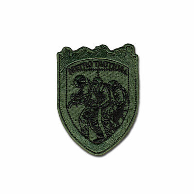 Tactical Combat Army Morale Patch Badge EMB Hook and Loop - Metro Tactical ODG