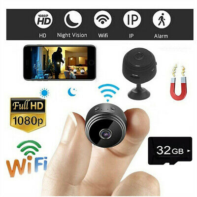 HD 1080P Mini Camera Wireless  Wifi IP Security Camcorder Night Vision Motion