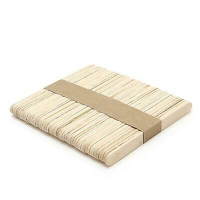 Natural Wooden Craft Sticks Ice Cream Stick Paddle Pop Popsicle Coffee Stirrers