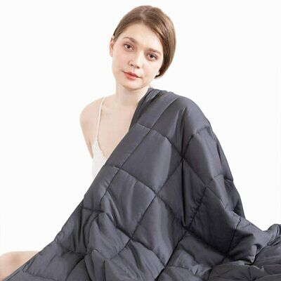 """Anxiety Relief Weighted Blanket for Adults 60x80"""" 15Lbs 20Lbs Full Queen Size"""