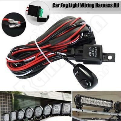 Wiring Harness Kit  40A 12V ON / OFF Switch Relay Harness For LED Work Light Bar