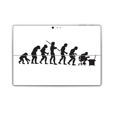 Evolution to PC Vinyl Skin Sticker Cover to fit Surface Pro Printed Wrap