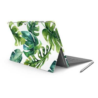 Palm Leaves Vinyl Skin Sticker Cover to fit Surface Pro Printed Floral Wrap
