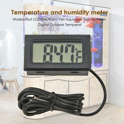 LCD Digital Thermometer for Fridge Freezer Aquarium FISH TANK Temperature AU