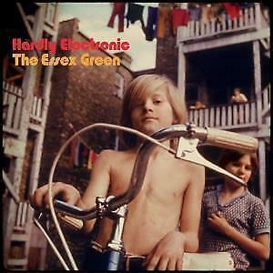 ESSEX GREEN Hardly Electronic LP VINYL 10 Track Limited Edition Red & Orange V