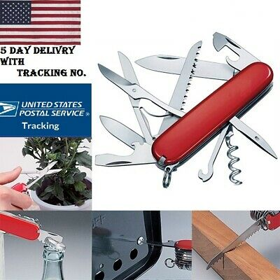 New Army Pocket Knife Multi-Tool For Outdoor Hunting folding Camping Outdoor USA