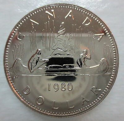 1980 Canada Voyageur Dollar Proof-Like Coin