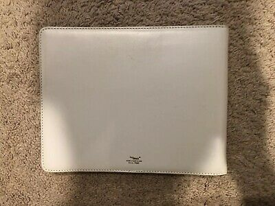 Bosch White Leather Guest Book For Parties Weddings Visitors