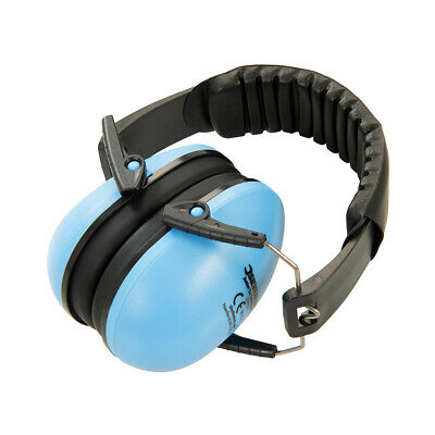 Junior Ear Defenders Blue Safety & Workwear Ear Protection Silverline 374163