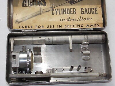 Ames Telescopic Cylinder Gauge With Original Instructions