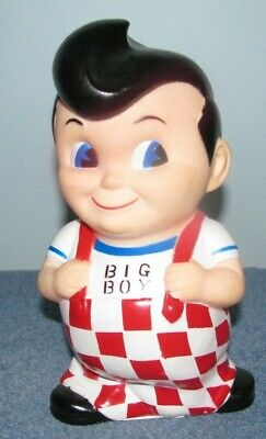 Frisch's, Bobs or Shoneys Big Boy Coin Bank 8 Inches Tall
