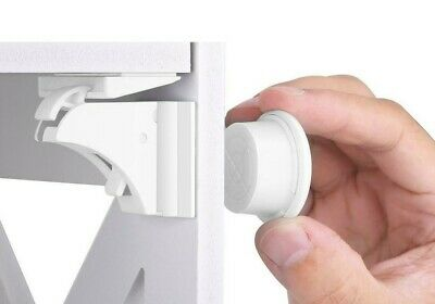 16 Baby Child Safety Magnetic Cabinet Locks for Cupboard Drawers Furniture
