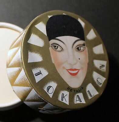 * Tokalon  Petalia Moyen Modele Face Powder  Box * Bin * Sealed * Mint * Rare *