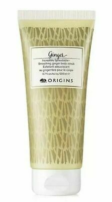 Origins GINGER Incredible Spreadable Smoothing Ginger Body Scrub 6.7oz ~ NEW ~i8