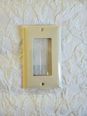 20- Jasco Light Switch Wall Plate Receptacle Outlet Cover ALMOND 40053