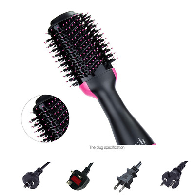 New 2 In1 OneStep Hair Dryer and Volumizer Brush Straightening Curling Iron Comb