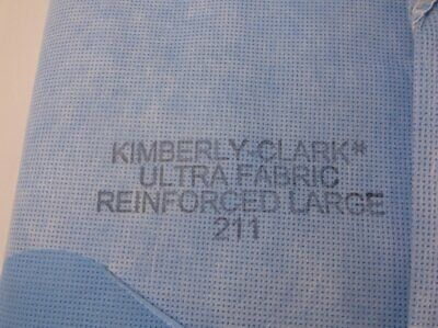 Kimberly Clark Ultra Fabric Reinforced Large Surgical Gown 211 New No Package