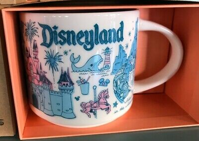 Disney Parks Starbucks Been There DISNEYLAND Coffee Mug Pin Drop Collection