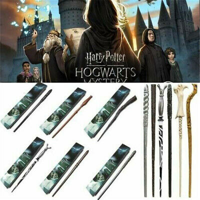 Harry Potter Resin Magic Wands Hermione Dumbledore Stick Cosplay Halloween Gifts