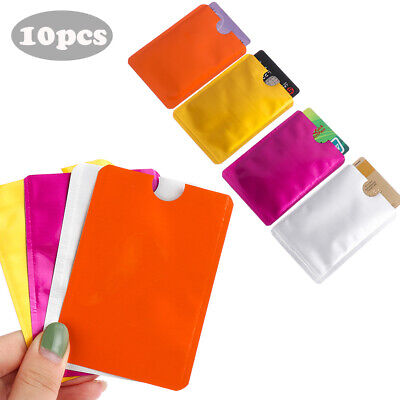 Case Anti-theft Sleeve Wallet Protect Case Cover RFID Blocking Card Holder