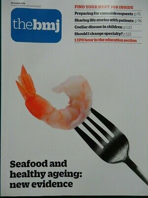 Bmj British Medical Journal 20 October 2018 Seafood & Healthy Ageing New Evidenc