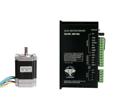 57BLF02 Brushless DC motor,3000RPM, 125W 24V,driver BLDC-8015A Medical Devices