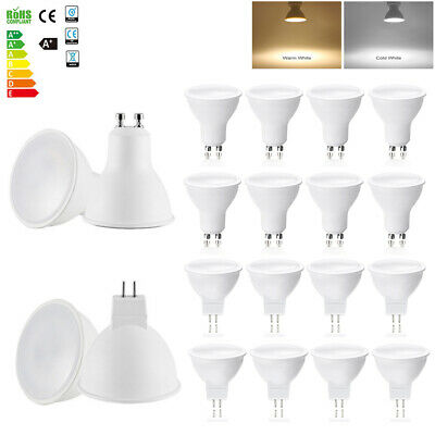 GU10 MR16 5W Spot LED Ampoules Lampe Dimmable Bulb Blanc Froid Blanc Chaud 120°