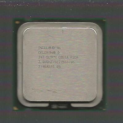 Retail Intel Celeron D 347 3.06GHz 533MHz 512KB SKT 775 CPU