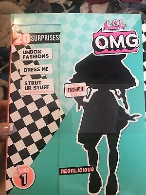 """LOL Surprise OMG Fashion Doll with 20 Surprises """"NEONLICIOUS"""" In Hand RTS"""
