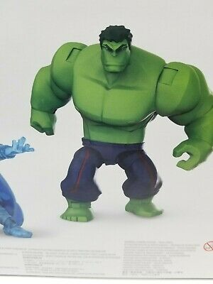 Disney Store Exclusive Marvel Toybox INCREDIBLE HULK Avengers Loose 2019