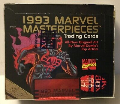 1993 Skybox Marvel Masterpieces Factory Sealed Box
