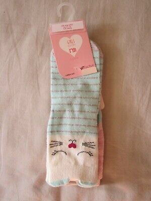 Mothercare 3 Pairs Girls Ankle Socks, Size: 6-8,5