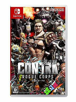 NEW Nintendo Switch CONTRA ROGUE CORPS JAPAN import Japanese game