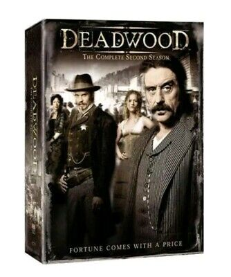 Deadwood - The Complete Second Season (DVD, 2014, 6-Disc Set) New Sealed