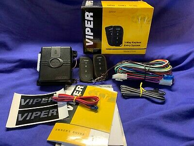 Viper 211HV, 1-Way Keyless Entry, 1,500' Range, w/2-4 Button Remotes, Aux in-New
