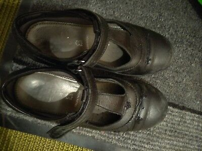 Geox Black Girls School Shoes size 30/12. RRP £45.00