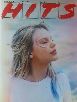 Taylor Swift Hits Magazine August 26, 2019 Vol 32 Issue 1274  *Limited Printing*