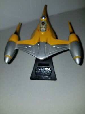 Star Wars Action Fleet Naboo Starfighter & Anakin Skywalker 1998 Micro Machines