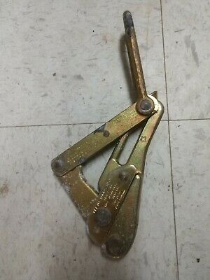 Klein Tools Chicago Grip 1613-30 Bare Wire Cable Pulling Grip .08 - .20 in