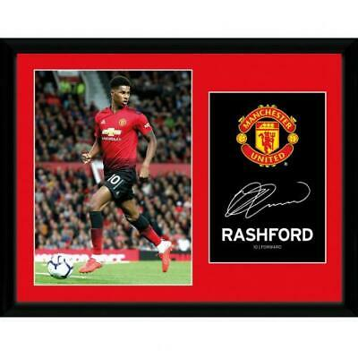 Manchester United F.C. Picture Rashford 16 x 12 Official Merchandise