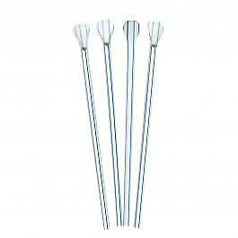 10000 x Striped Spoon Straws Recyclable | Catering Supplies