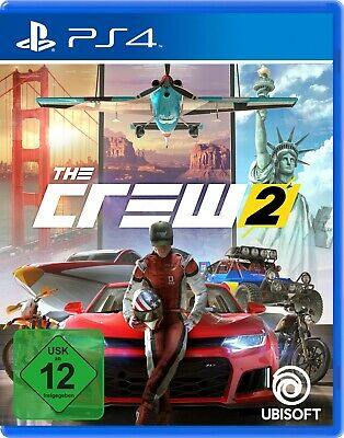The Crew 2 - Playstation 4 (NEU & OVP!)