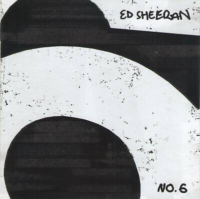 ED SHEERAN - No.6 COLLABORATIONS PROJECT (2019) CD Jewel Case+FREE GIFT