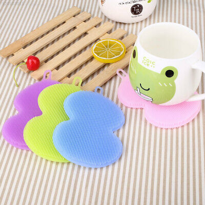 F380 Cleaning Brush Kitchen &Amp; Dining Mat Cup Silicone
