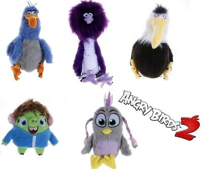 "New Official 12"" Angry Birds Movie 2 Soft Plush Toys Zeta Eagle Harvey Courtney"