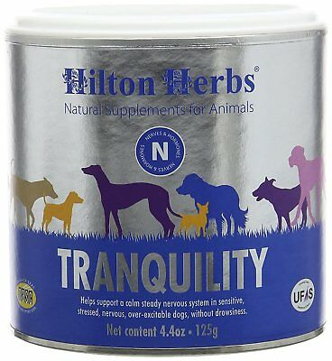 Hilton Herbs Canine Tranquility for Anxiety/Nerves/Stress Dogs, 4.4oz Exp 8/20