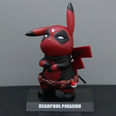 Funko Cool Pikachu Deadpool pokemon Pop Culture Figure One Lucky Day Toy Decor